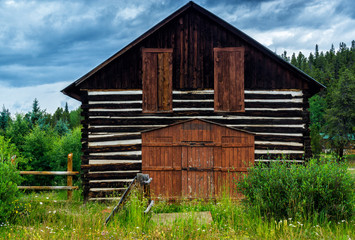 Old House In A Colorado Ghost Town