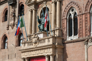 Bologna City Hall with Pope Gregory XIII