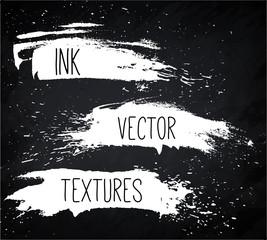 Ink Vector texture set.