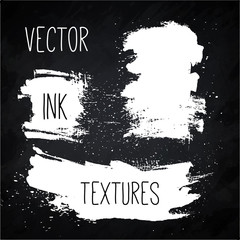 Ink Vector texture set.