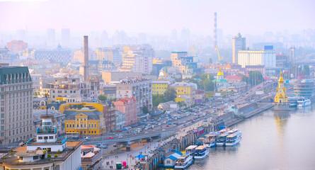 Fototapete - Kiev skyline. Ukraine