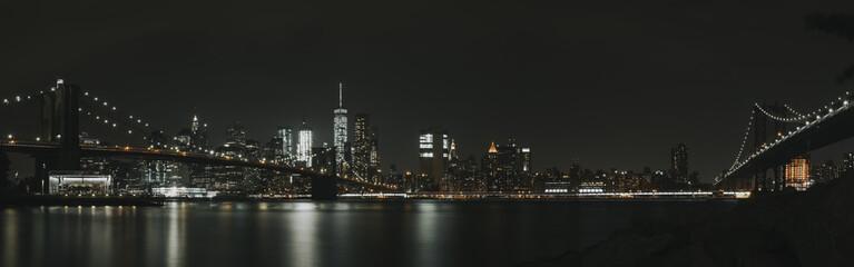 New York Skyline in the dark