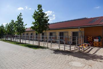 Reitanlage Paddock Bereich