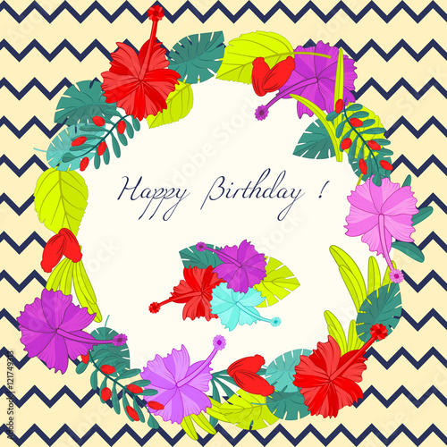 Happy birthday label for holiday for invitations and greeting happy birthday label for holiday for invitations and greeting cards happy birthday poster m4hsunfo