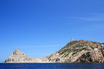 Faro di Capo Sandalo, Sardegna