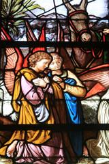 Anges. Cathédrale Notre-Dame de Senlis. Senlis Cathedral..