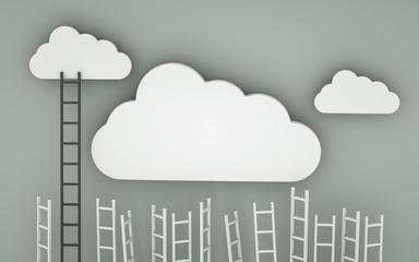 cloud competition concept