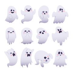 Ghost vector characters isolated