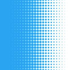 Three levels of half tone_blue #Vector Graphic
