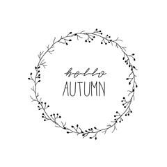 hello autumn flower