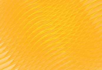 Abstract fractal yellow background