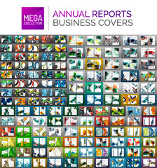 Mega collection of annual report covers