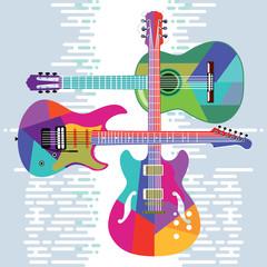 Gitarren Musikinstrumente