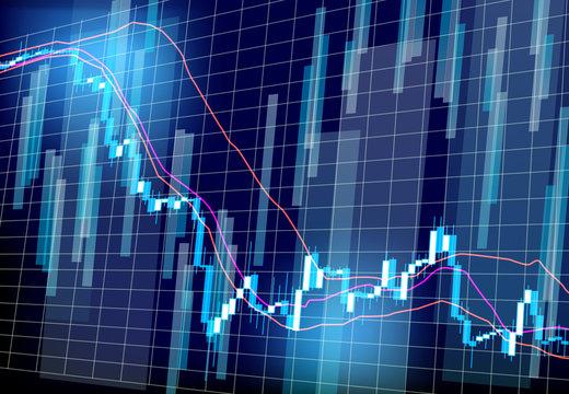stock prices market chart