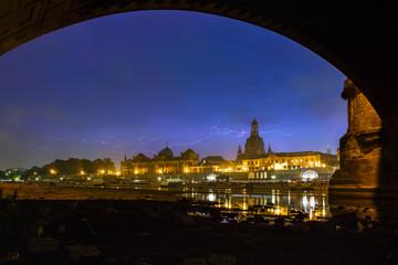 Dresden Gewitter
