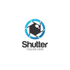 Shutter Photography Creative Concept Logo Design