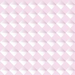 Pink seamless geometric pattern. Vector background