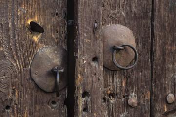 Old door knob.