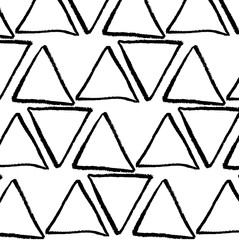 Vector triangles background