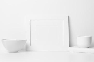 """8x10"""" Frame Mock-Up - Landscape, with mat"""