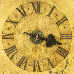 Genuine medieval clock face
