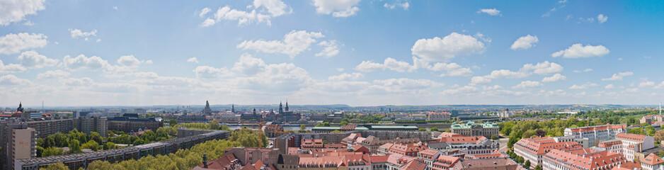 Dresden mit Blick Aud die Alstadt