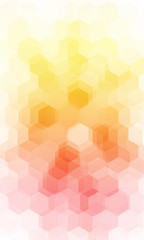 yellow, gold color geometry background. vector illustration. polygonal pattern.