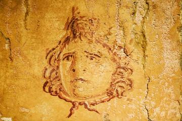 Roman fresco from Pompeii