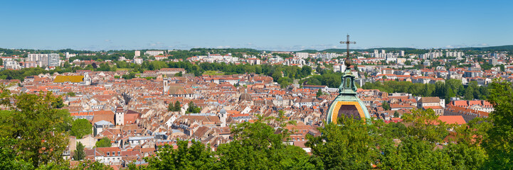 Panorama of Besancon