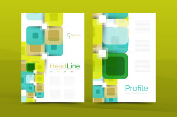 Business a4 annual report design