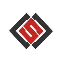 S letter initial logo design