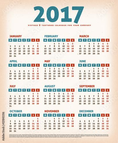 Vintage Designs Calendar 46
