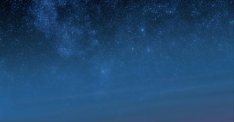 Stars sky morning