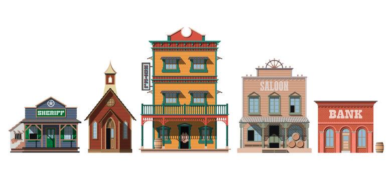 Western houses