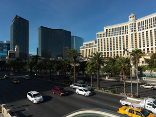 Las Vegas - a stunning city! Gorgeous hotel and casino, beautiful streets and fountains, rich in shops and interesting attractions, modern and classical architecture.