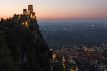 Fortress of Guaita - Mount Titano - San Marino Wall mural