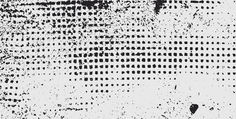 Abstract grunge halftone background - Vector
