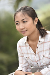 Portrait of young asian ethnicity woman