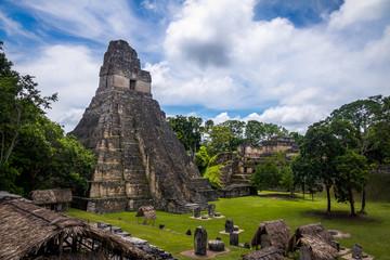 Temple I (Gran Jaguar) at Tikal National Park - Guatemala