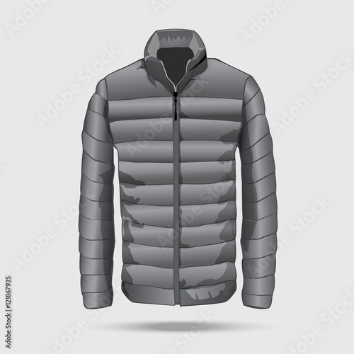 Quilted Bomber Jacket Template Stock Image And Royalty Free Vector