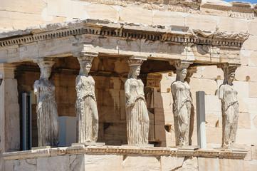 Printed kitchen splashbacks Athens Caryatids at Porch of the Erechtheion, Acropolis
