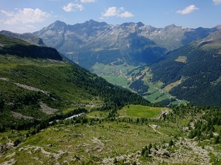 View Of Mountain Range