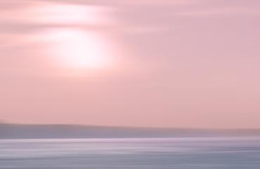 Motion Blurred Sea