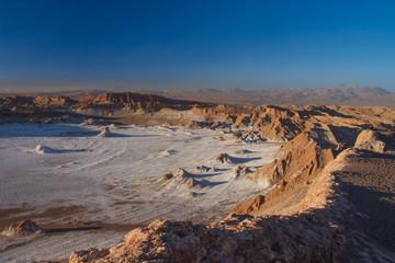 Atacama desert, moon valley