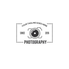 Photography Badge Creative Concept Logo Design