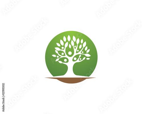 Family Tree Logo template vector icon design u0026quot; Imu00e1genes de archivo y ...