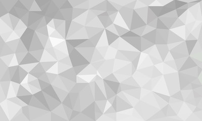 abstract Gray background, low poly textured triangle shapes in r