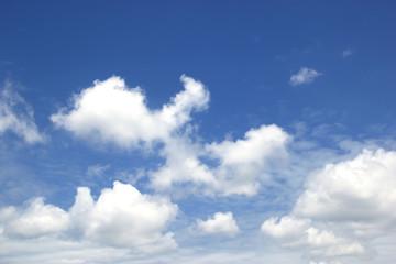 Sky white clouds