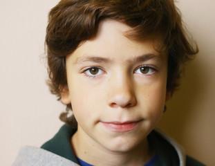 boy close up face portrait