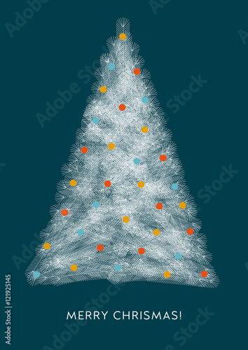 Weihnachtsbaum grafik weihnachtsgru geometrische formen englisch stock image and royalty - Weihnachtsbaum englisch ...
